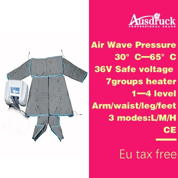 110V-220V Pression de la Vague d'Air PRESSOTHÉRAPIE LARGÉE DE PRESSOTHÉRAPIE Body Wrap SLIMMING machine Detox drainage lymphatique Beauté Equipement de Massage ES600