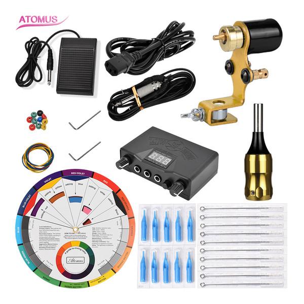 Motorpistole Pro Rotary Machine Shader Liner Komplette Patrone Rotary Tattoo Maschine Kit Body Art Versorgung Kits Professionelle Tätowierung