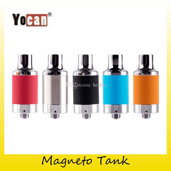 Authentic Yocan Magneto Wax Tank Atomizer For Yocan Magneto Kit Wax Vapor Pen kit with Magnetic Coil Cap 100% Genuine 2204039