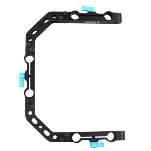 fotga dp3000 FOTGA DP3000 C-Shape Bracket Cage for 15mm DSLR Rig Rail Support System c-shape bracket