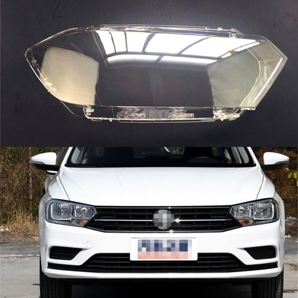 For Volkswagen VW Bora 2016 2017 2018 Transparent Car Headlight Headlamp Clear Lens Auto Shell Cover