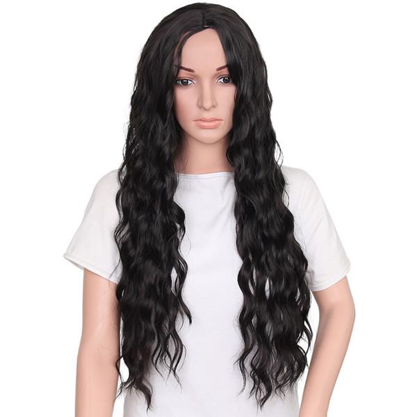 Peruca Longa Ondulado Peruca Sintética Cosplay para As Mulheres Resistência Ao Calor Fibra ferramentas de estilo de cabelo ferramentas de cabelo profissional bonito novo