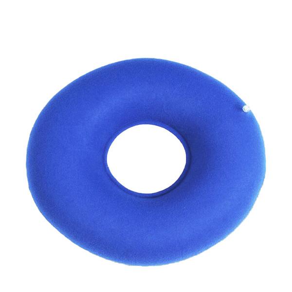 Nouveau gonflable Vinyl Ring Round Coussin médical hémorroïde Coussin Donut