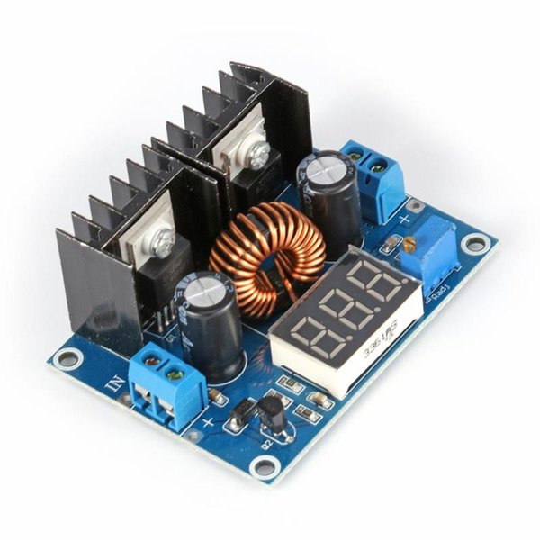 ALLOYSEED Electronic DC-DC Set-down Buck Voltage Regulator Module 8A DC XL4016E1 Digital Display Voltage Module Board