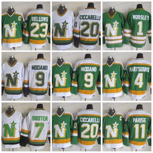 10c487db41f CCM Minnesota North Stars Hockey 11 JP PARISE 4 Craig Hartsburg 1 Gump  Worsley 9 Mike