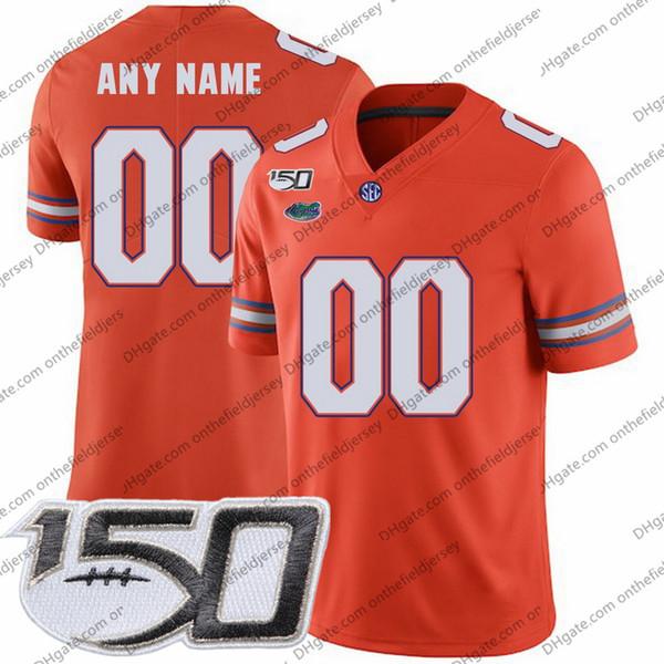 Parche NCAA 150TH naranja
