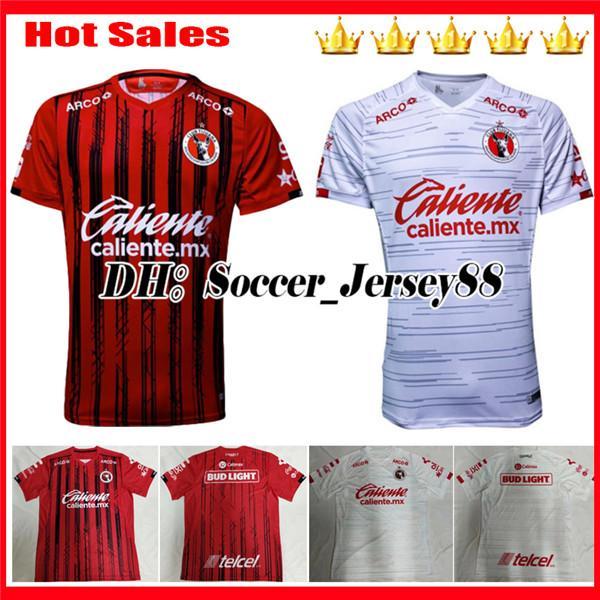 2019 2020 NOVOS Camisas de futebol de Xolos de Tijuana 19 20 Tijuana longe de casa RIVERO LUCERO BOLANOS México uniformes de clubes camisa de futebol camisas