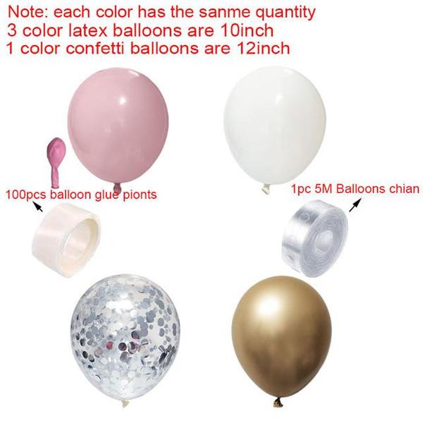 розовый комплект серебряный
