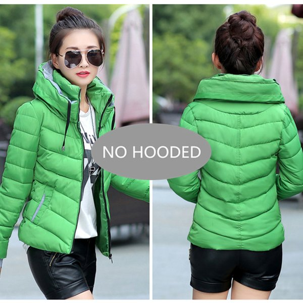 Green--No Hooded