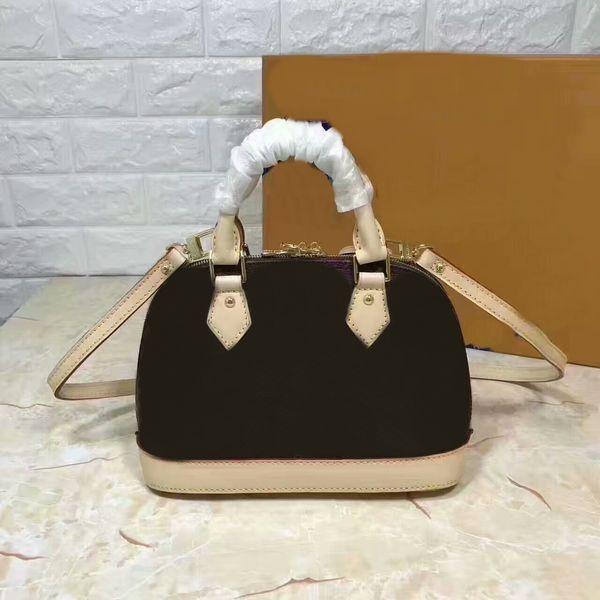Alta Qualidade Das Mulheres Sacos de couro Genuíno bolsa Mens alma BB MINI Bolsas Têm saco de poeira Carteiras têm bloqueio e chave Frete Grátis