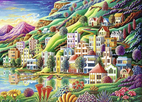 Ravensburger Puzzle City of Dreams (1000 parti) Nave dalla Turchia HB-001.719.286