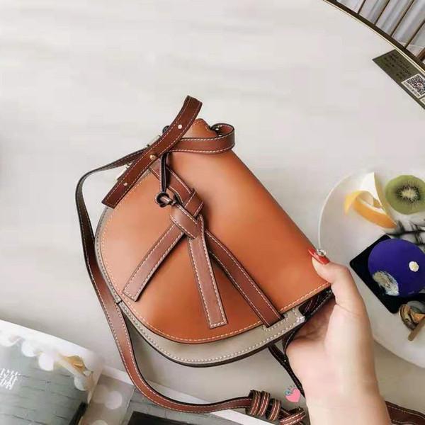 Classic borsa del progettista mini Gambe di spalla del sacchetto della copertura dell'arco di modo della decorazione romantica delicato Satchel