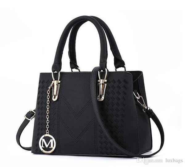top popular Handbags for Women Large Designer Ladies Shoulder Bag Bucket Purse Brand PU Leather Big Capacity Top-Handle Bags Luxury good quality 2020
