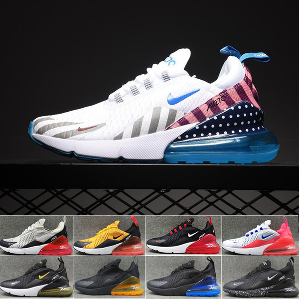 Compre Nike Air Max 270 270s 27c Airmax 2019 TN Cushion Sneakers Sports Designer Mens Running Shoes 27c Trainer Road Star BHM Iron Mujer Zapatillas De