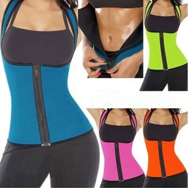 Shaper Womens Sexy Neopren Brief Körper schlank Taille dünner Gurt-Weste Underbust Frauen Hot Zippers Shapers gute Qualität