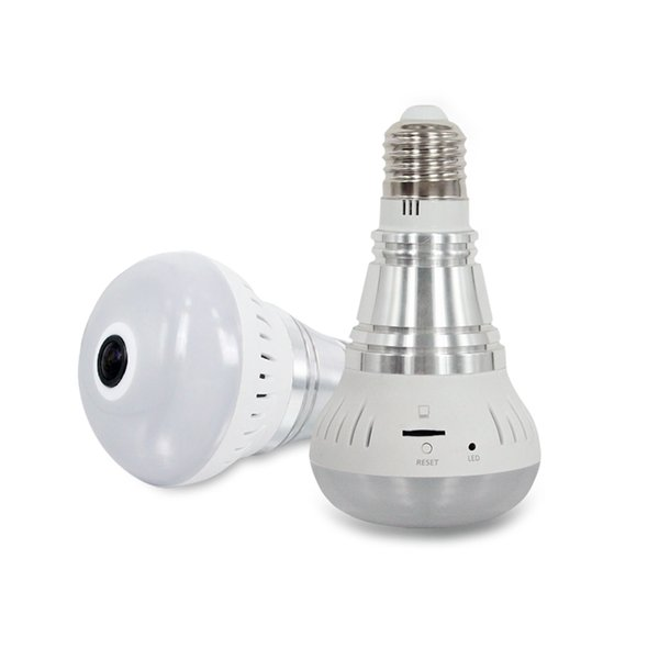 HD 960P Wifi IP Camera Baby Monitor 2 in 1 LED Bulb CCTV Camera Home Security for Smartphone Tablet PC