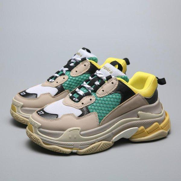 2019 2019 Multi Moda para homens mulheres sapatos casuais Vintage Kanye Old Grandpa Formadores Sapatilha sapato da moda botas ao ar livre