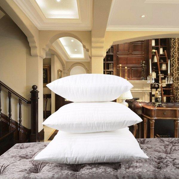 Weiße Kopfkissenfüllung für das Schlafen Bett wund Nackenkissen Square Cotton Filler Vlies Bettwäsche Kern Innenkissen Pad