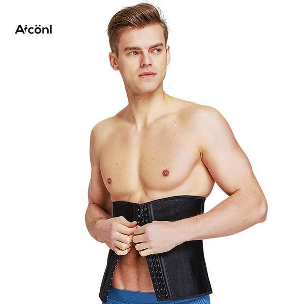 Modellierung Strap Men Abdominal Male body shaper Latex Taille Trainer Korsett Männer Gürtel kolumbianische Gürtel abnehmen Unterwäsche abnehmen