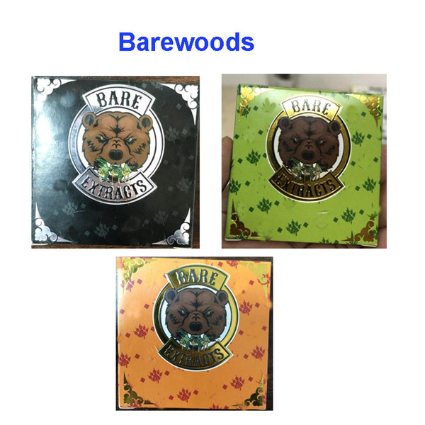 best selling Bare 710 BAREWOODS Quality Untouched Bare Extracts Paper Packaging Premium Trim Nug Run Live Resin for wax Concentrate Distillate