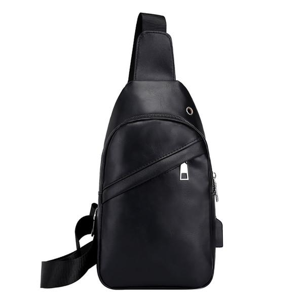 uomini OCARDIAN borse a tracolla Borsa a tracolla borse Crossbody di cuoio da uomo PU Busto Bag Drop casuali liberano il CSV G0821 # 10