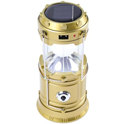 New Creative 7-LED Rechargeable Camping Lantern Outdoor Portable Lights Camping Lighting Lamp Torch Flashlight Cycling Tool EU Plug
