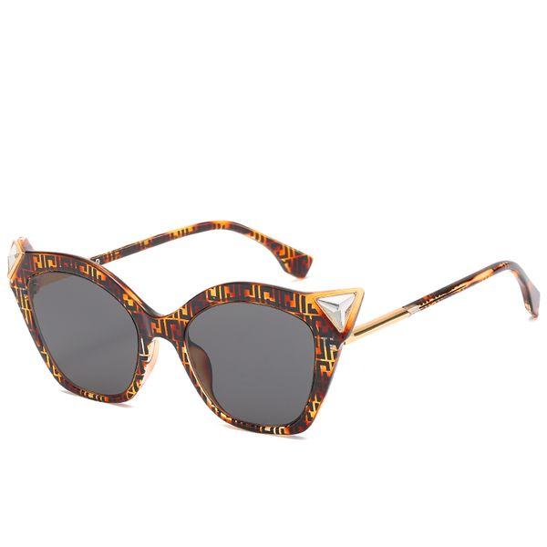 Новый женский Кошачий глаз Солнцезащитные очки мужской и женский бренд дизайнер солнцезащитные очки Мода одежда шоу солнцезащитные очки водитель очки Бесплатная доставка