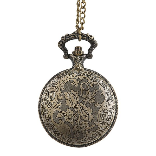 Hot Selling Vintage Chain Retro The Greatest Pocket Watch Necklace For Grandpa Dad Gifts Men Women Clock Relogio De Bolso