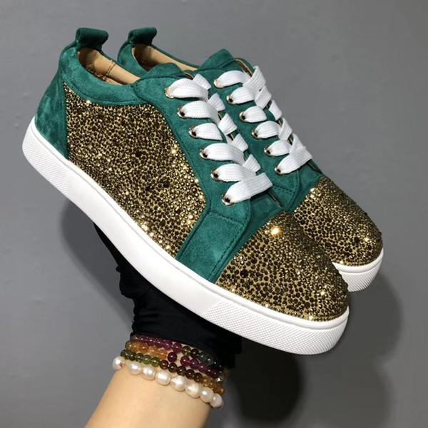 Designer Luxury Shoes Men Women Studded
