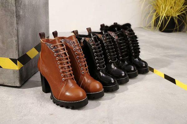 Casuales De Tacón Zapatos Piel Oveja Moda Diseñador De De Zapatos De De Llegada De Botas Cuero Nueva Zapatillas Compre 2020 De Mujer Zapatos Alto De 4L5R3Aj