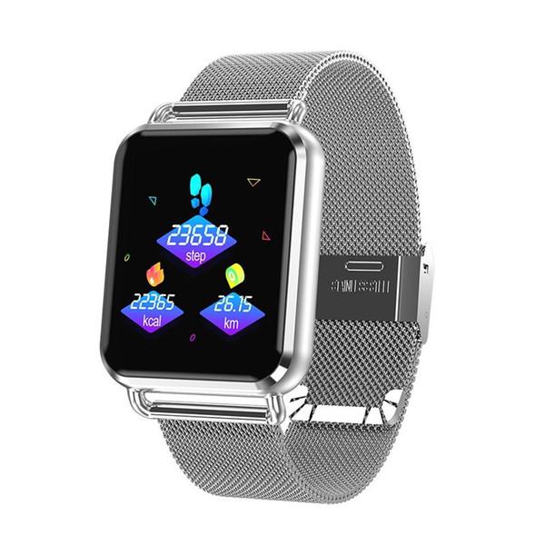 Smart Watch Men Dynamic Blood Oxygen Pressure Pedometer Fitness Tracker Heart Rate Smartwatch Hot Selling