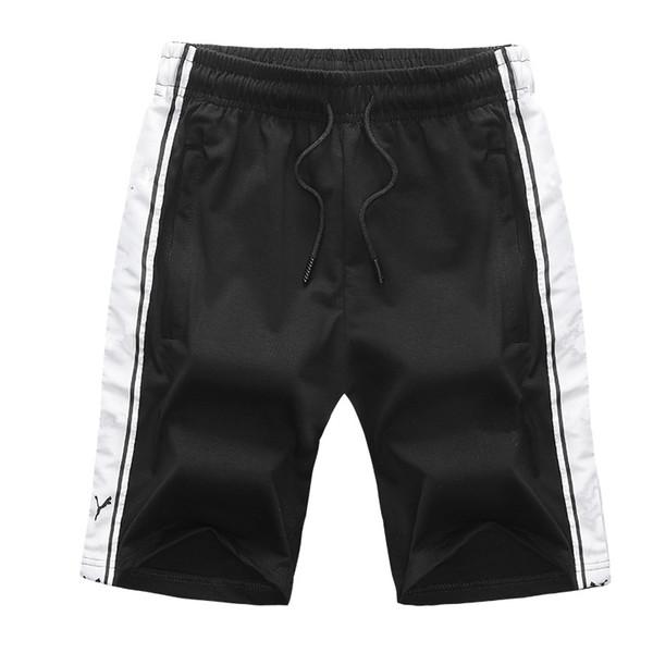 2019 Summer Men Shorts with Letter Pattern Flat Sport Brand Beach Shorts Elastic Waist Hot Fashion Short Pants for Mens Clothing L-5XL