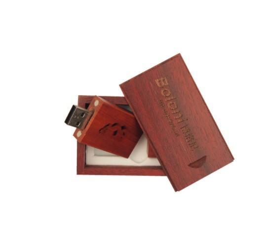 Promozione Pendrive Personalizado USB Flash Drive Pen Drive in legno 4GB 8GB 16GB 32GB 64GB Regalo di nozze USB 2.0 (oltre 20 pezzi Logo personalizzato gratuito)