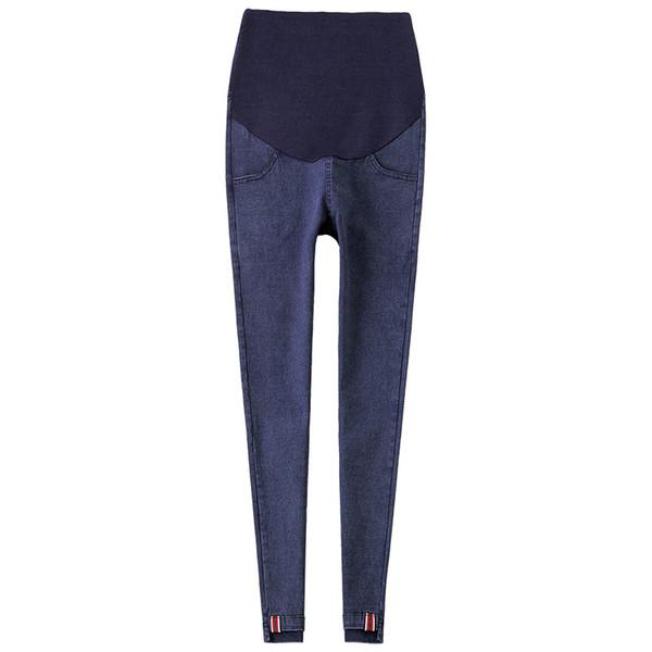 Jeans Pantaloni di maternità Skinny Stretch Denim Pants per le donne incinte Vestiti Gravidanza Gravidanza Pantaloni Legging Abbigliamento Gravidas