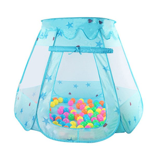 120*90*70cm Cute Children Kid Balls Pit Pool Game Play Tent Indoor Outdoor Gaming Toys Hut For Baby Toddlers Baby Playing Pools