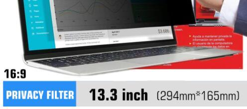 For 13.3 inch laptop