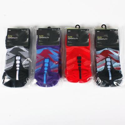 Branded Elite basketball socks for men towel bottom thickened mens designer stockings luxury sports socks mens running socks Eu40-46