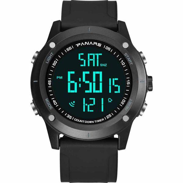 Reloj de los hombres Reloj de pulsera impermeable Reloj de cuarzo LED Reloj deportivo Hombre Relogios masculino Deporte Hombres digital G50