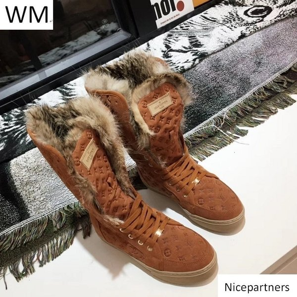 Scarpe Duping520 più venduti Classic Brown Embossed peluche stivali da equitazione Pioggia Stivali Boots Booties Sneakers Dress