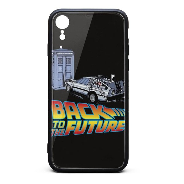 Back to the Future logo car i XR phone best cheap case protective duty phone cases printted classic shock-absorbing phone cases