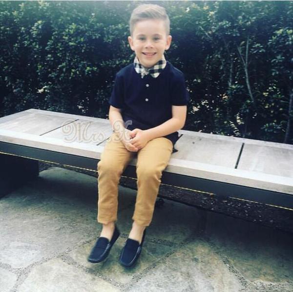 Новая мода дети с коротким рукавом футболки мальчики топы одежда бренды тройники