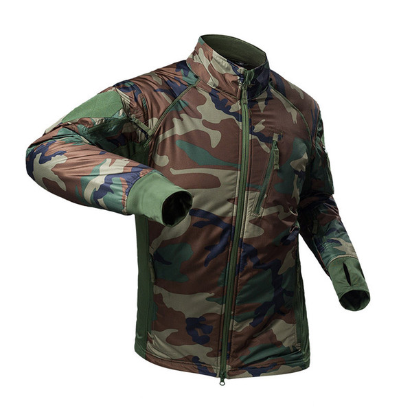 top popular Outdoor Sports Airsoft Gear Jungle Hunting Woodland Shooting Coat Tactical Combat Clothing Outdoor Jacket P05-219 2021