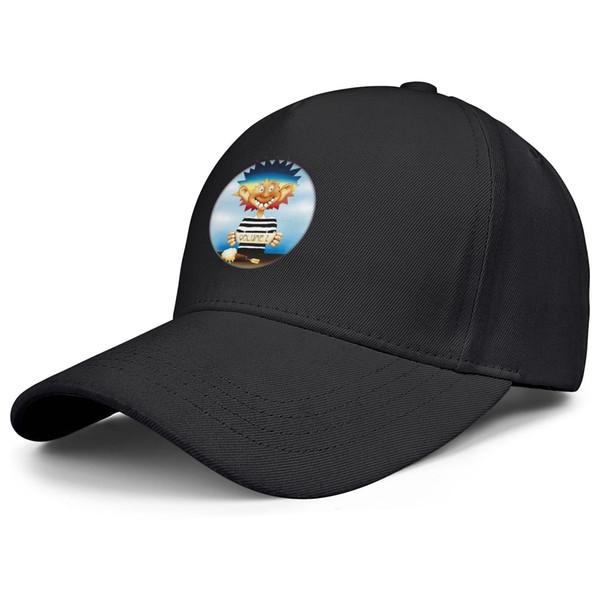 Grateful Dead divertente nero mens e womens trucker cappellino stile baseball montati personalizzare cappelli da corsa uk
