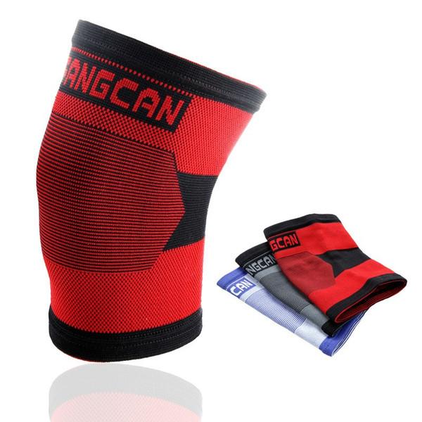 Knee Pad Knitting elastico traspirante Warm Ingranaggio protettivo Comfort uomini e donne Protector per gli sport multi colore Optiona 9 1SS F