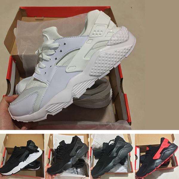 N04-2 2018 Новый Huarache IV Ультра Повседневная Обувь Huraches кроссовки для мужчин, женщин Многоцветная обувь Тройные Huaraches кроссовки бесплатная доставка