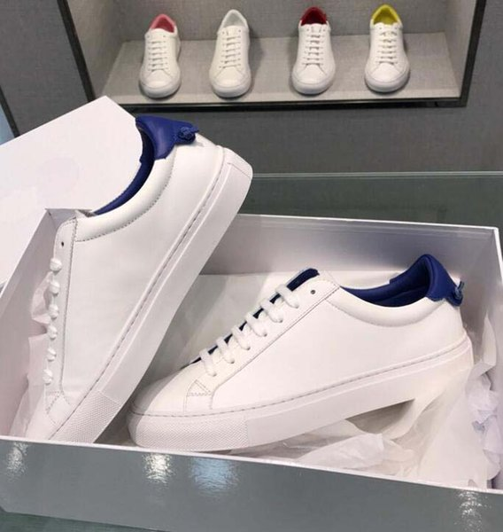 19ss marque Giv en cuir hommes femmes casual chaussures lettre petits monstres hommes Designer hommes chaussures en cuir véritable mode Mixte couleur xx226516f