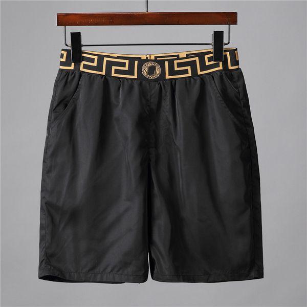 19ss Diseñadores de alta calidad Carta impresa Pantalones cortos Pantalones cortos de secado rápido para hombre Pantalones cortos de surf Summer Beach Pantalones Hombres Pantalones cortos de natación