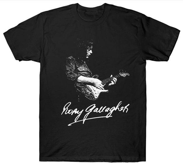 Rory Gallagher camiseta Guitarrista Guitarra 1970 De 1980 retro cumpleaños de la vendimia ocasional fresca Orgullo unisex nuevo de la manera