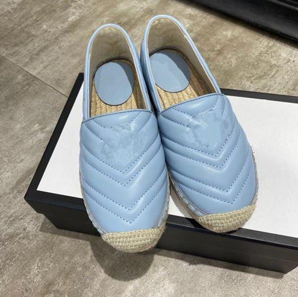 GG Blue closed toe