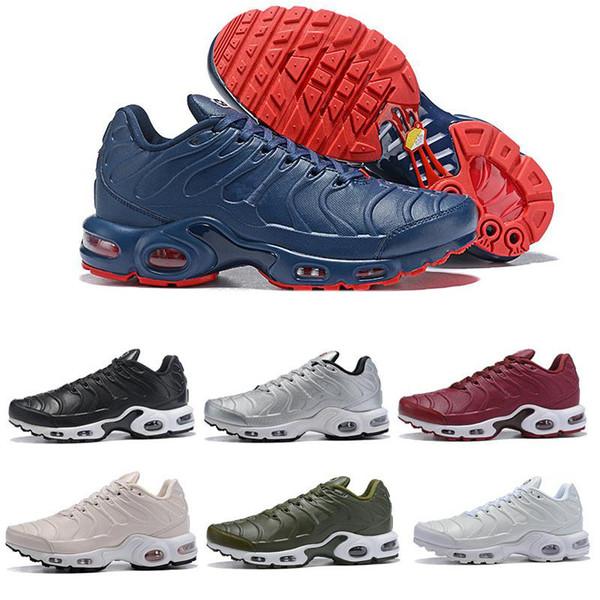 Atacado 2018 TN PLUS Mens Moda Original Sneakers TN AIR SHOes vendas TOP qualidade Barato moda de luxo mens mulheres sandálias designer sapatos